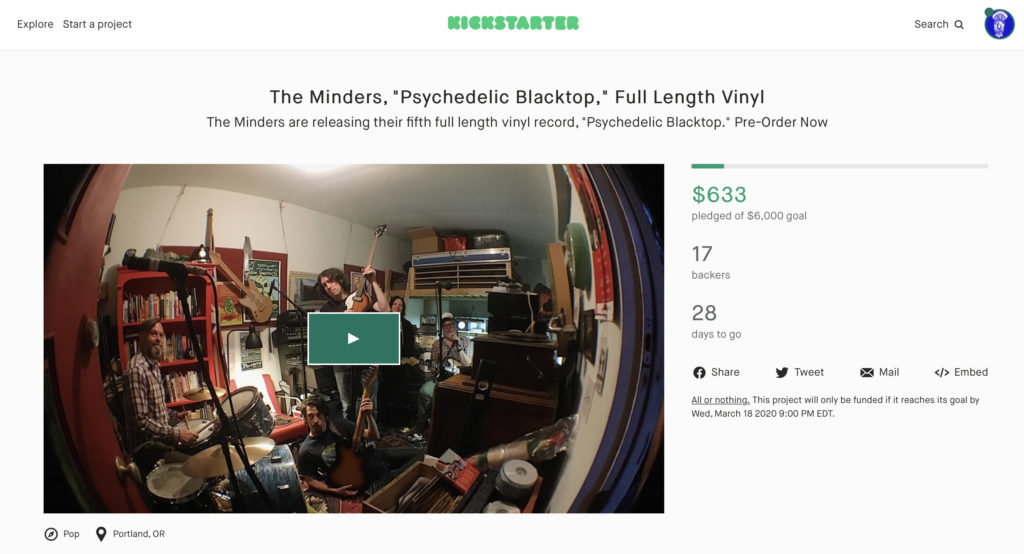 The Minders Kickstarter